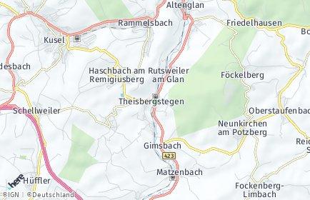 Stadtplan Theisbergstegen
