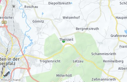Stadtplan Theisseil