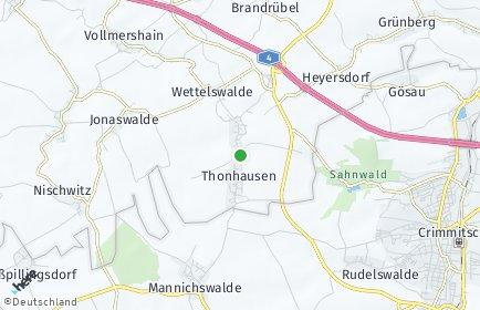 Stadtplan Thonhausen