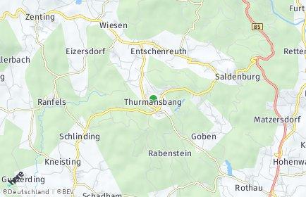Stadtplan Thurmansbang