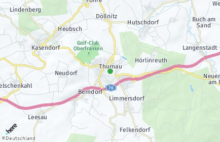 Stadtplan Thurnau OT Rottlersreuth