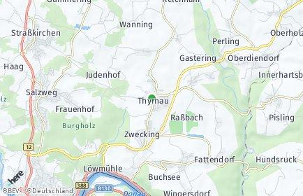Stadtplan Thyrnau