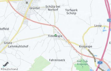 Stadtplan Timmaspe