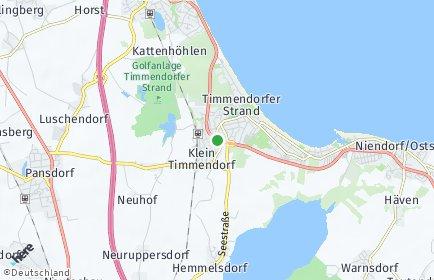 Stadtplan Timmendorfer Strand