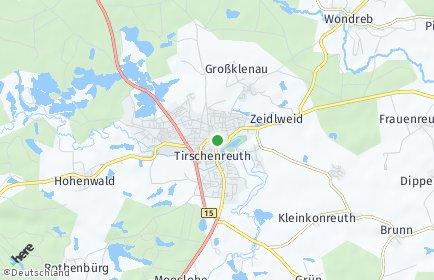 Stadtplan Tirschenreuth