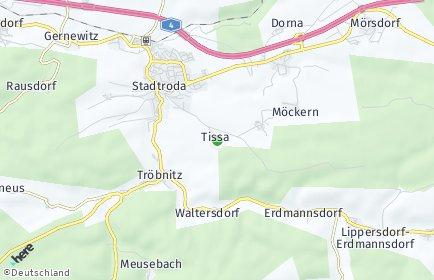 Stadtplan Tissa