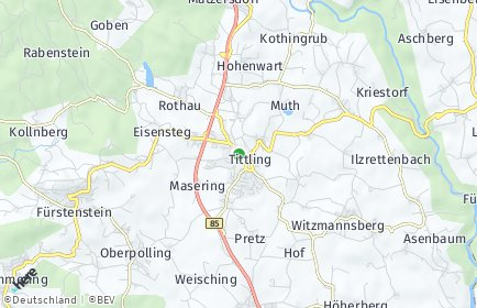Stadtplan Tittling