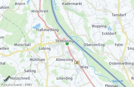 Stadtplan Tittmoning