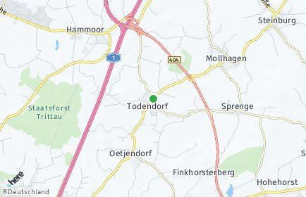 Stadtplan Todendorf