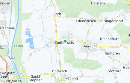 Stadtplan Todtenweis