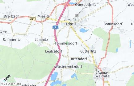 Stadtplan Tömmelsdorf