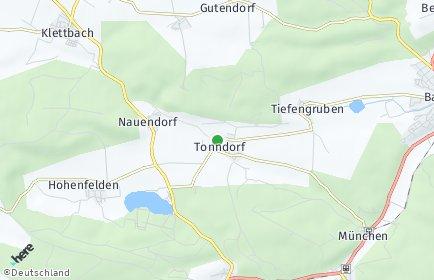 Stadtplan Tonndorf (Thüringen)