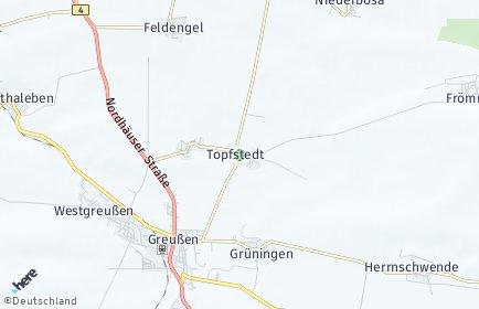 Stadtplan Topfstedt