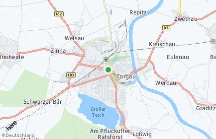 Stadtplan Torgau OT Weßnig
