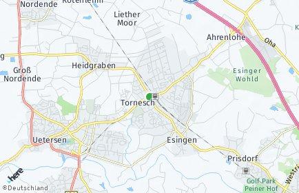 Stadtplan Tornesch