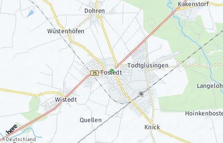 Stadtplan Tostedt