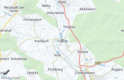 Stadtplan Trabitz