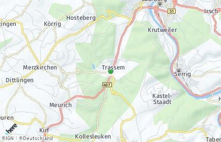 Stadtplan Trassem