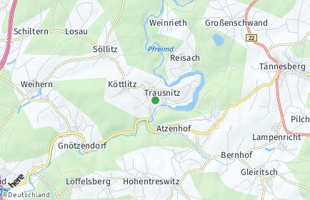 Stadtplan Trausnitz