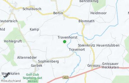 Stadtplan Travenhorst