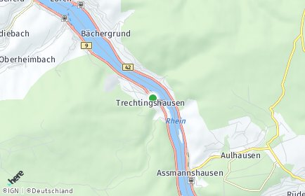 Stadtplan Trechtingshausen