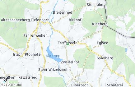 Stadtplan Treffelstein