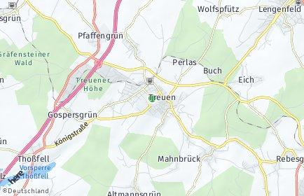Stadtplan Treuen