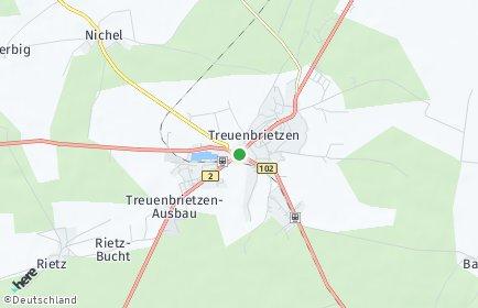 Stadtplan Treuenbrietzen