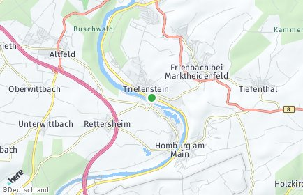 Stadtplan Triefenstein