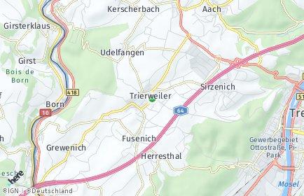 Stadtplan Trierweiler