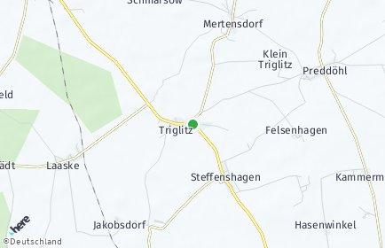 Stadtplan Triglitz