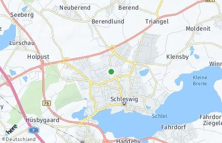 Stadtplan Schleswig-Flensburg