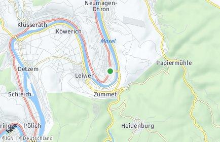 Stadtplan Trittenheim