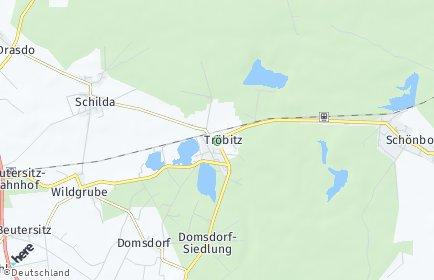 Stadtplan Tröbitz