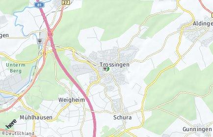 Stadtplan Trossingen