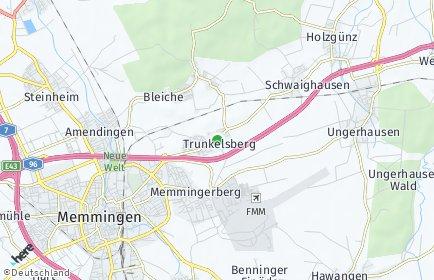 Stadtplan Trunkelsberg