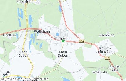 Stadtplan Tschernitz
