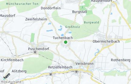 Stadtplan Tuchenbach