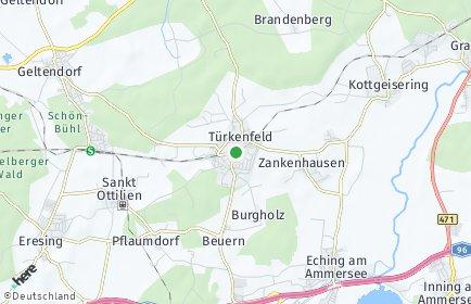 Stadtplan Türkenfeld