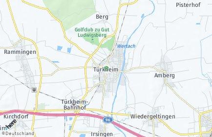 Stadtplan Türkheim