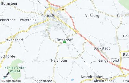 Stadtplan Tüttendorf