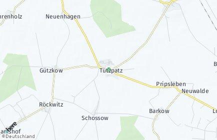 Stadtplan Tützpatz