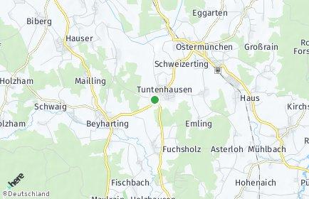 Stadtplan Tuntenhausen