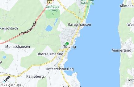 Stadtplan Tutzing