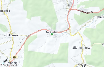 Stadtplan Twistetal