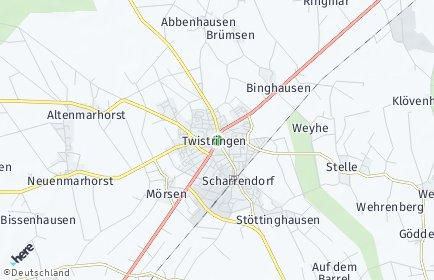 Stadtplan Twistringen