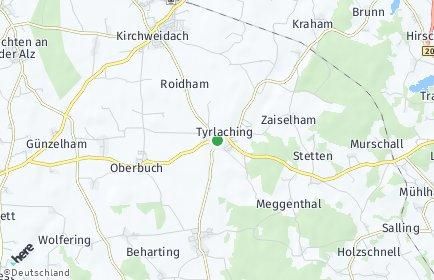 Stadtplan Tyrlaching