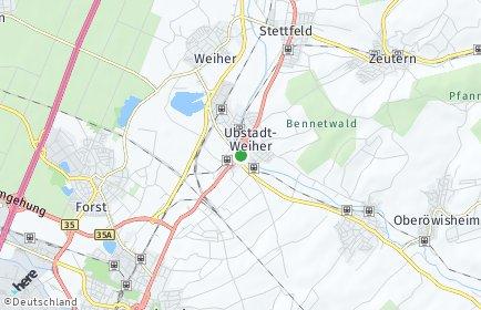 Stadtplan Ubstadt-Weiher