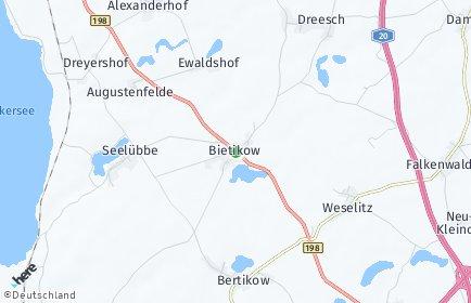 Stadtplan Uckerfelde