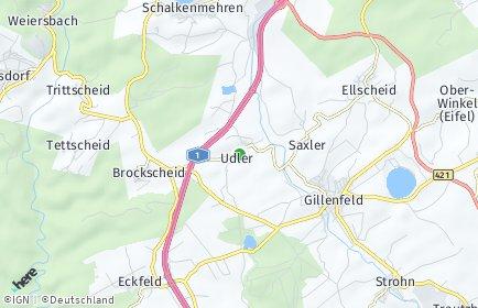 Stadtplan Udler
